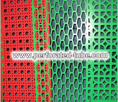 Steel Perforated Sheets with Color Coating