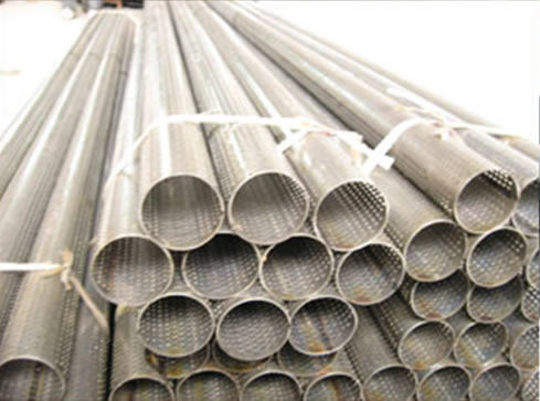 Perforated Stainless Steel Pipes for Cars