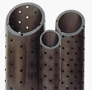 Perforated casing screen pipes, J55 or N80